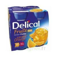 Delical Boisson Fruitee Nutriment Orange 4bouteilles/200ml à DURMENACH