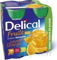 DELICAL BOISSON FRUITEE Nutriment édulcoré orange 4Bouteilles/200ml à DURMENACH