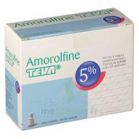 Amorolfine Teva 5 % Vernis Ongl Médic Médicamenteux 1fl Ver/2,5ml+spat à DURMENACH