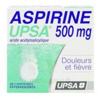 Aspirine Upsa 500 Mg, Comprimé Effervescent à DURMENACH