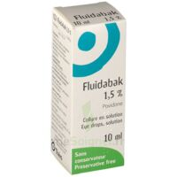 FLUIDABAK 1,5 %, collyre en solution à DURMENACH