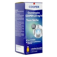 OXOMEMAZINE H3 SANTE 0,33 mg/ml SANS SUCRE, solution buvable édulcorée à l'acésulfame potassique à DURMENACH