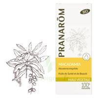 PRANAROM Huile végétale bio Macadamia 50ml à DURMENACH
