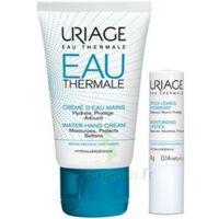 Uriage Eau Thermale Crème D'eau Mains T/30ml+stick Lèvres à DURMENACH