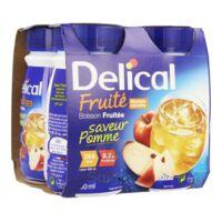 Delical Boisson Fruitee Nutriment Pomme 4bouteilles/200ml à DURMENACH