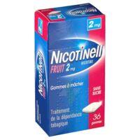Nicotinell Fruit 2 Mg Sans Sucre, Gomme à Mâcher Médicamenteuse Plaq/36gom à DURMENACH