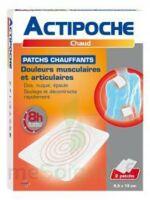 Actipoche Patch Chauffant Douleurs Musculaires B/2 à DURMENACH