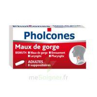 PHOLCONES BISMUTH ADULTES, suppositoire à DURMENACH