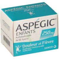 Aspegic Enfants 250, Poudre Pour Solution Buvable En Sachet-dose à DURMENACH
