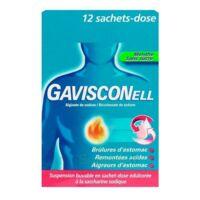 GAVISCONELL Suspension buvable sachet-dose menthe sans sucre 12Sach/10ml à DURMENACH