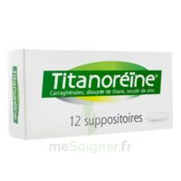 TITANOREINE Suppositoires B/12 à DURMENACH