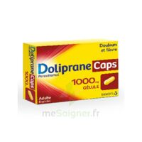 DOLIPRANECAPS 1000 mg Gélules Plq/8 à DURMENACH