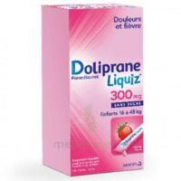 Dolipraneliquiz 300 mg Suspension buvable en sachet sans sucre édulcorée au maltitol liquide et au sorbitol B/12 à DURMENACH