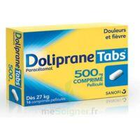 DOLIPRANETABS 500 mg Comprimés pelliculés Plq/16 à DURMENACH
