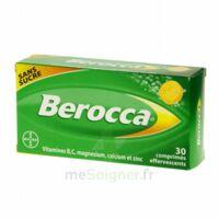 Berocca Comprimés effervescents sans sucre T/30 à DURMENACH