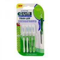 Gum Trav - Ler, 1,1 Mm, Manche Vert , Blister 4 à DURMENACH