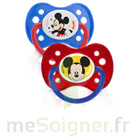 Dodie Disney Sucette anatomique silicone +6mois Mickey Lot/2 à DURMENACH