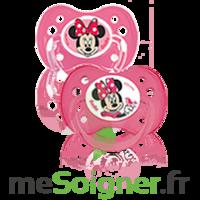 Dodie Disney Sucette anatomique silicone +6mois minnie Lot/2 à DURMENACH