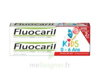 Fluocaril Kids Gel dentifrice Fraise 0/6ans 2*50ml à DURMENACH