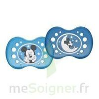 SUCETTE DODIE ANATOMIQUE SILICONE mickey 18 MOIS + x 2