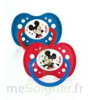 Dodie Disney sucettes silicone +18 mois Mickey Duo à DURMENACH