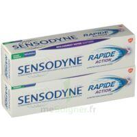 Sensodyne Rapide Pâte Dentifrice Dents Sensibles 2*75ml à DURMENACH