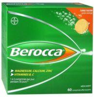 Berocca Comprimés effervescents sans sucre T/60 à DURMENACH