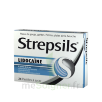 Strepsils Lidocaïne Pastilles Plq/24 à DURMENACH
