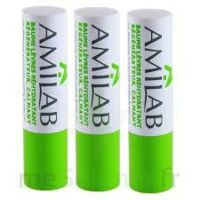 Amilab Baume labial réhydratant et calmant lot de 3 à DURMENACH