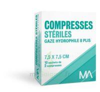Marque Conseil Compresse Stérile Gaze Hydrophile 7,5x7,5cm 10 Sachets/2 à DURMENACH
