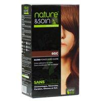 Nature & Soin Kit Coloration 6gc Blond Foncé Doré Cuivré à DURMENACH