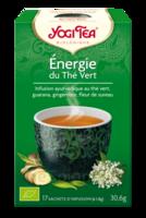 Yogi Tea Thé énergie du thé vert bio 17 Sachets à DURMENACH