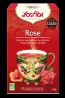 Yogi Tea Thé Tao Tea Rose Bio 17 Sachets à DURMENACH