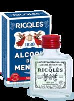Ricqles 80° Alcool de menthe 30ml à DURMENACH