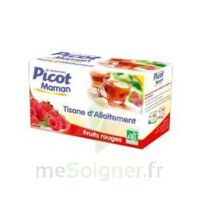 Picot Maman Tisane d'allaitement Fruits rouges 20 Sachets à DURMENACH