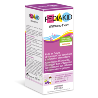 Pédiakid Immuno-Fort Sirop myrtille 125ml à DURMENACH