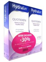 Hydralin Quotidien Gel lavant usage intime 2*400ml à DURMENACH