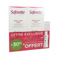 Saforelle Solution Soin Lavant Doux 2*500ml+100ml à DURMENACH