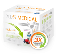 XL-S Médical Poudre capteur de graisses fruits rouges 90 Sticks à DURMENACH