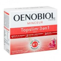 Oenobiol Topslim 3 en 1 Poudre à diluer Framboise Sticks/14 à DURMENACH