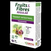 Ortis Fruits & Fibres Regular Comprimés B/30 à DURMENACH