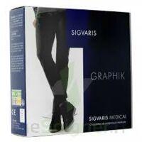 Sigvaris Graphik 2 Chaussette homme cobalt N large à DURMENACH