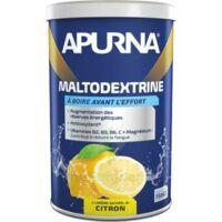 Apurna Maltodextrine Poudre pour boisson citron 100% naturel B/500g à DURMENACH