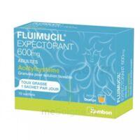 Fluimucil Expectorant Acetylcysteine 600 Mg Glé S Buv Adultes 10sach à DURMENACH