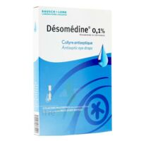 DESOMEDINE 0,1 % Collyre sol 10Fl/0,6ml à DURMENACH