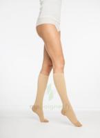 Coton Chaussettes  Femme Classe 2 Beige Small Normal à DURMENACH