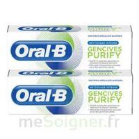 Oral B Gencives Purify Dentifrice 2*t/75ml à DURMENACH
