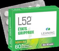Lehning L52 Comprimés Orodispersibles Plq Pvc/pvdc/alu/60 à DURMENACH