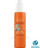 Avène Eau Thermale Solaire Spray Enfant 50+ 200ml à DURMENACH