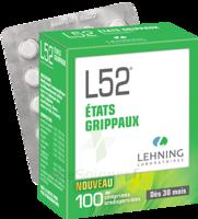 Lehning L52 Comprimés Orodispersibles Plq Pvc/pvdc/alu/100 à DURMENACH